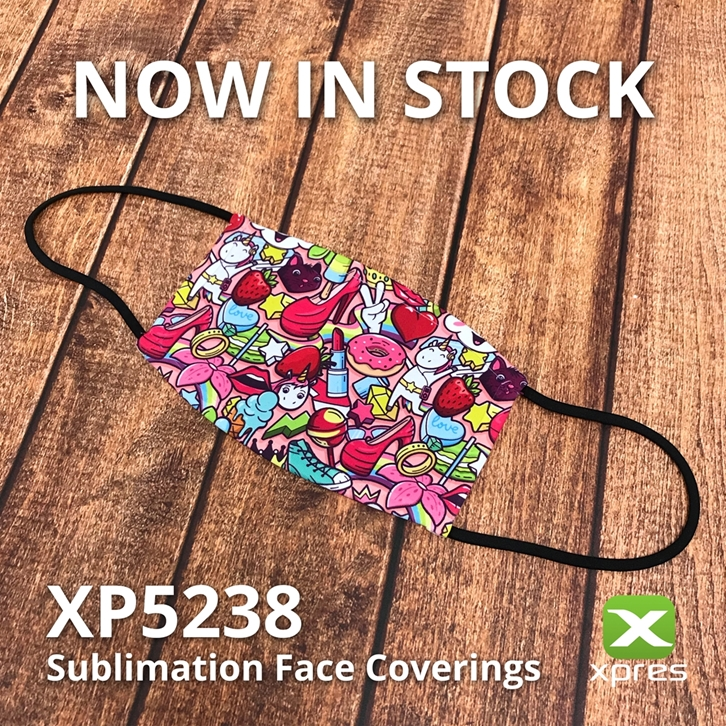 Sublimation Face Coverings