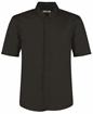 Picture of Bargear Men's Mandarin Collar Bar Shirt Short Sleeve