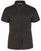 Picture of Bargear Women's Mandarin Collar Shirt Short Sleeve