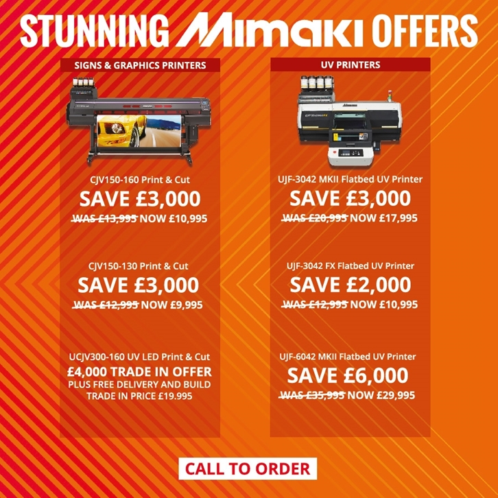 Mimaki September Stunners