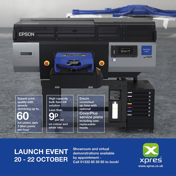 Introducing the Epson SureColour SC-F3000