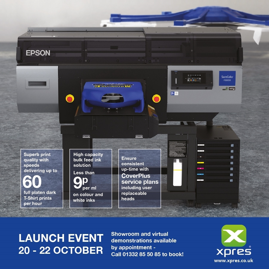 Introducing the Epson SureColour SC-F3000