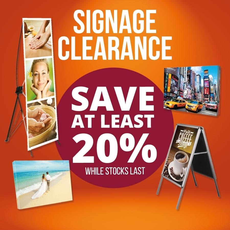Signage Clearance