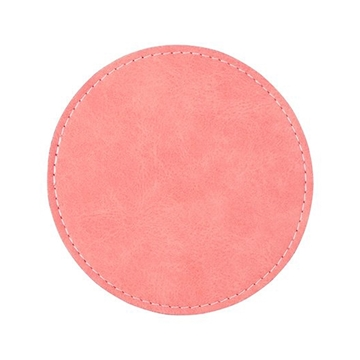 Picture of PU Leather Effect Coaster Round 95mm