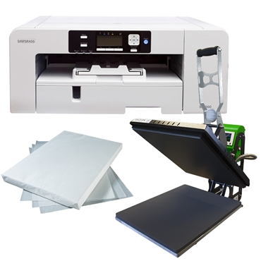 Picture for category Start Up Sublimation Flat Press  A3 - Master Ext Ink