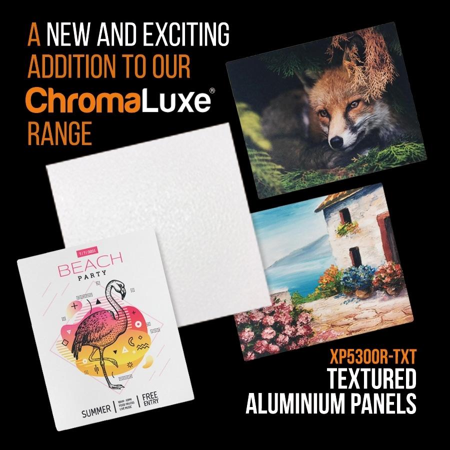 ChromaLuxe Textured Aluminium Panels