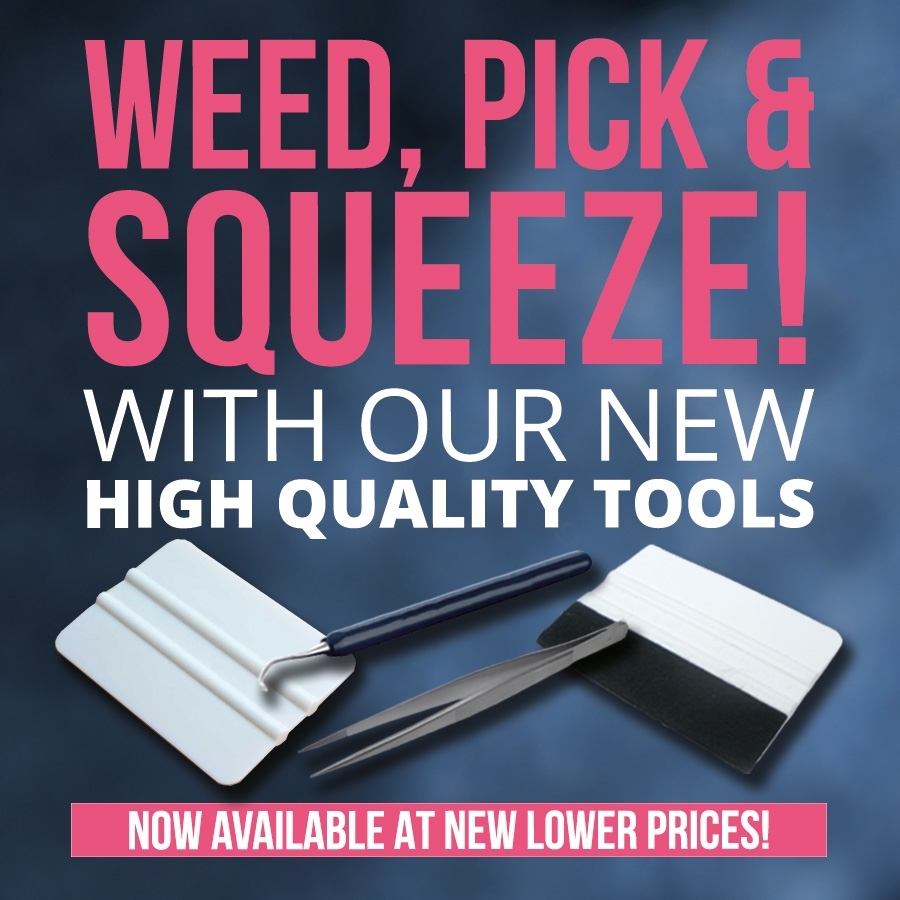 Weed, Pick & Squeeze with our New High Quality Tools