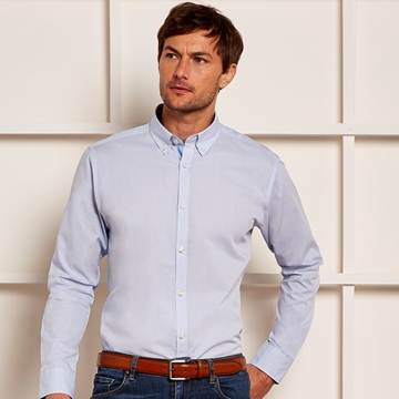 Picture of Clayton & Ford Micro Check Shirt