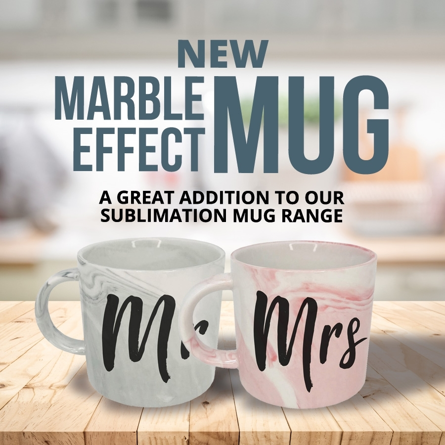 New Year, New Marble Effect Mugs!