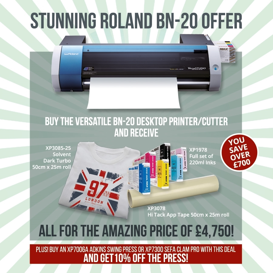 Save Over £700 on this Roland BN-20 Package!
