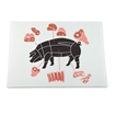 Picture of Glass Cutting Board - Oblong 28.5cm x 39cm