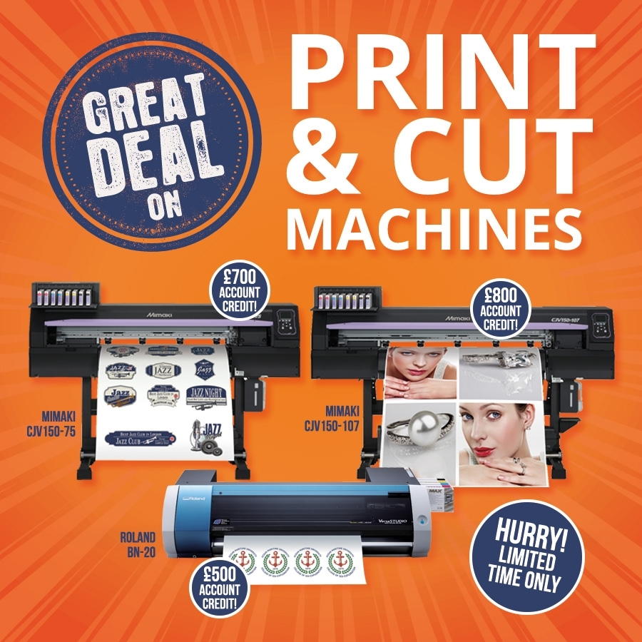 Amazing Print & Cut, DTG and Sublimation Offers!