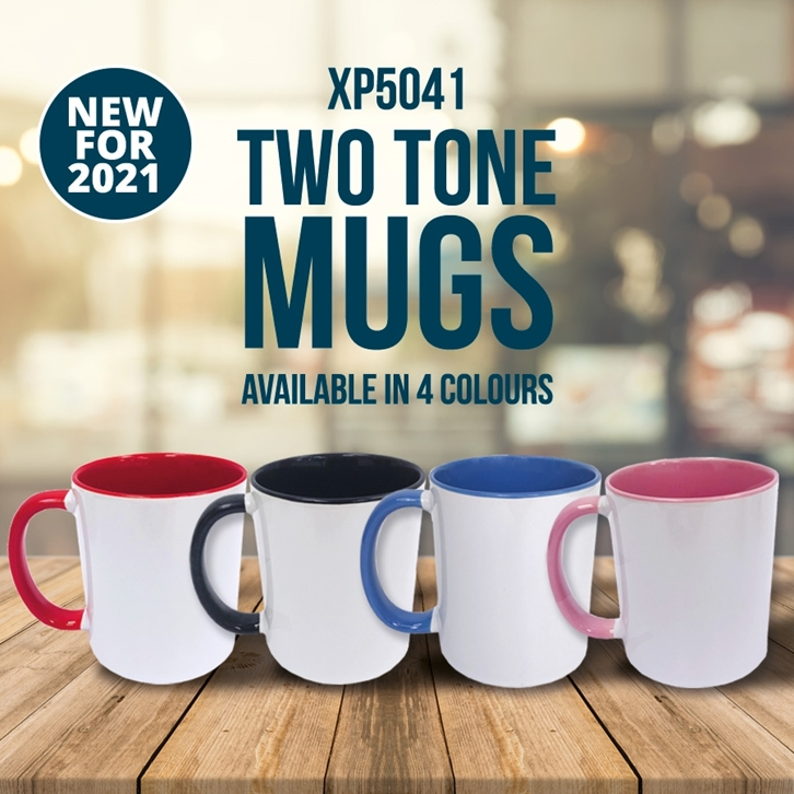 New for 2021 | Two Tone Mugs