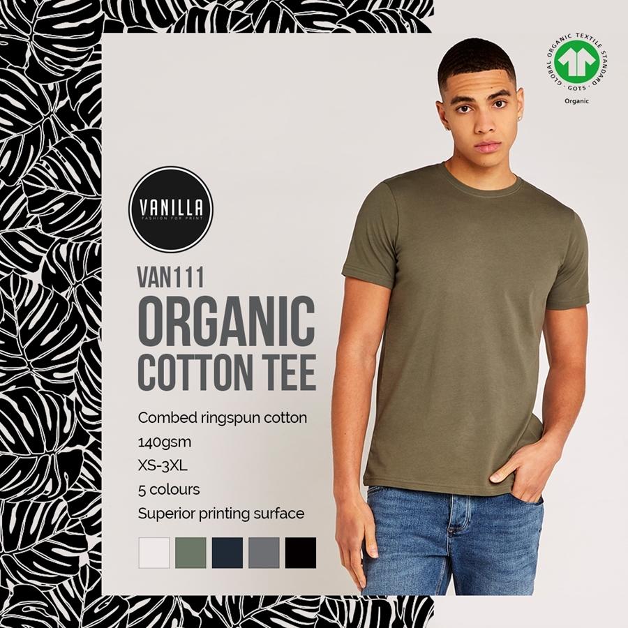 Take a Look at the Vanilla Men's Organic Tee