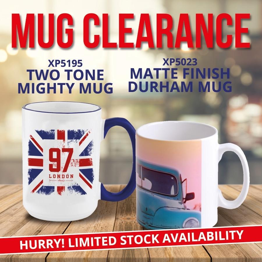 Mug Clearance