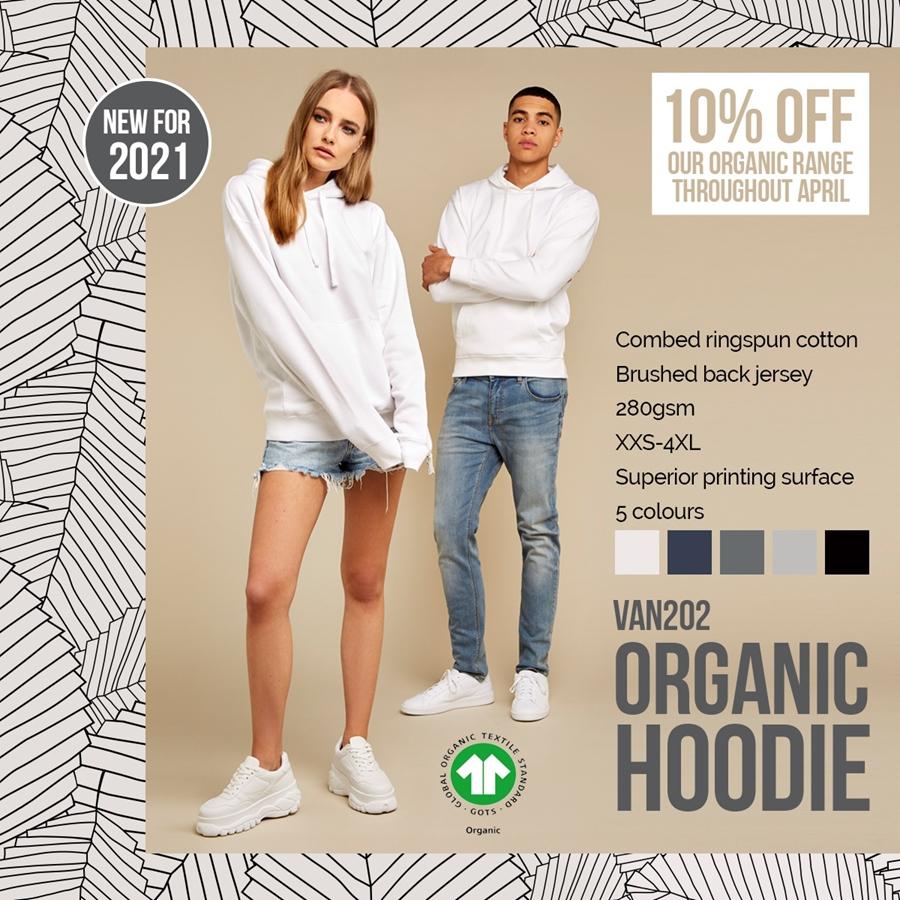 Introducing VAN202 Organic Hoodie