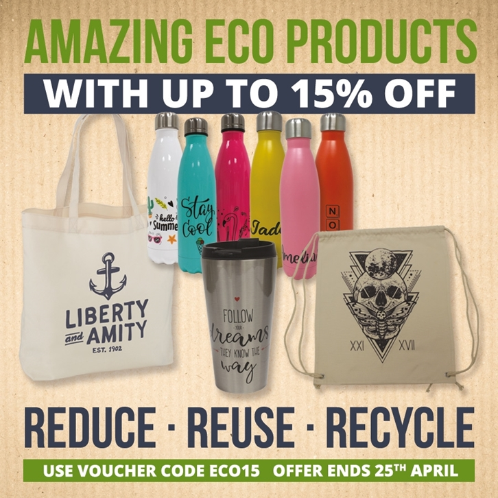 15% off Amazing Eco Products!