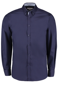 Picture of Contrast Oxford L/S Button Down Tailored