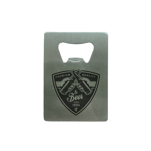 Picture of Bottle Opener Stainless Steel 70mm x 50mm x 1.5mm