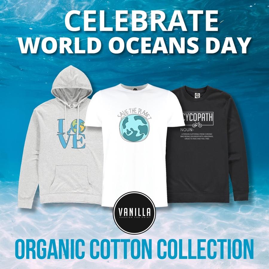 Celebrate World Oceans Day with the Vanilla Organic Range!