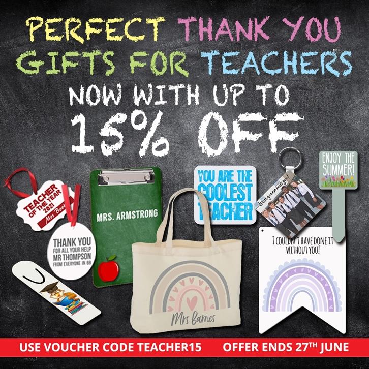 Teacher Gifts Offer