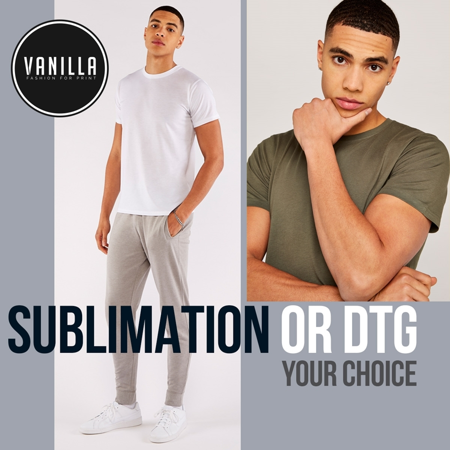 Sublimation or DTG: Your Choice