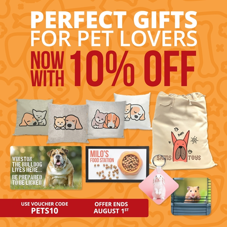 Save 10% on Gifts for Pets & Pet Lovers 🐶🐱