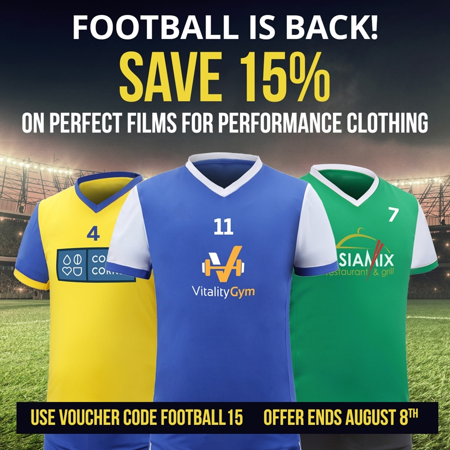 Performance Clothing Films Offer