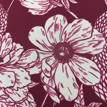 Picture of Georgette 110gsm Crepe Textile 100% Polyester - 145cm Wide