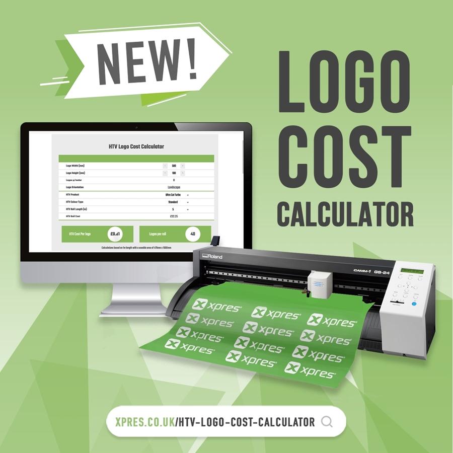 New Logo Cost Calculator!
