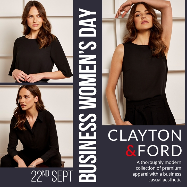 Celebrate Business Women's Day with Clayton & Ford