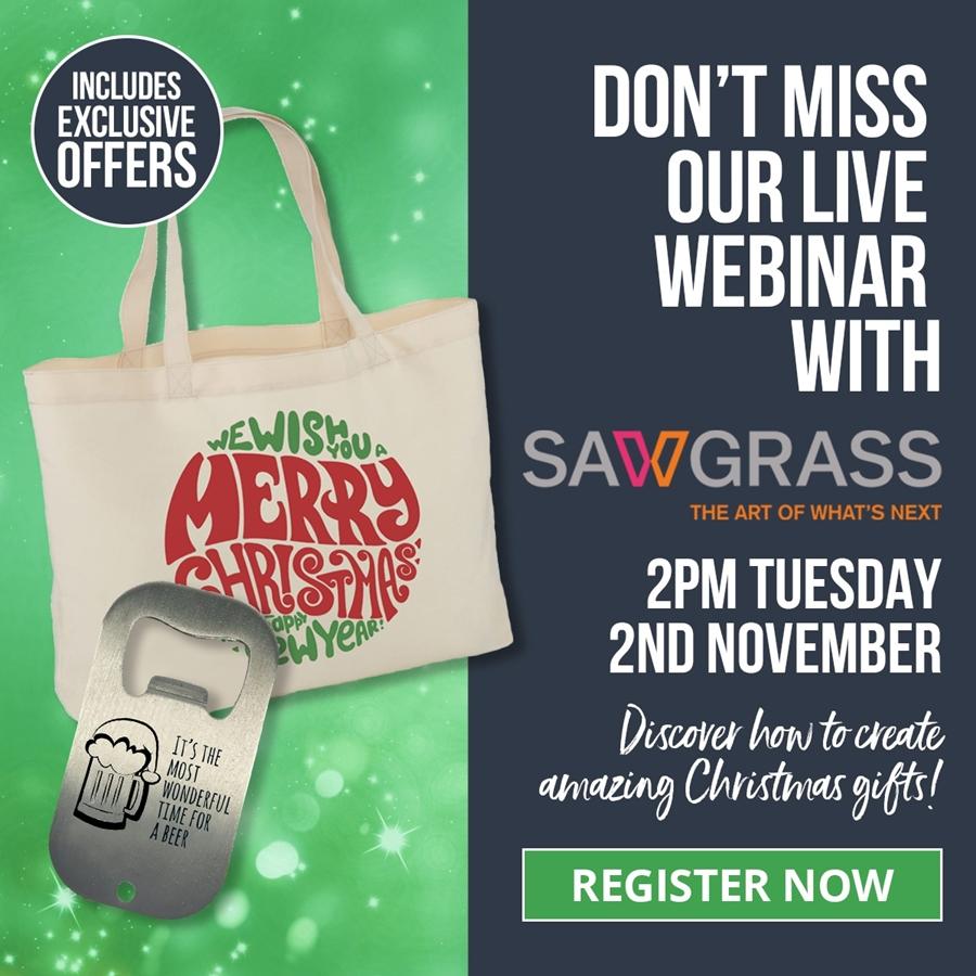 Sawgrass Christmas Business Webinar
